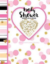 Baby Shower Games for Girls: Baby Shower Games in a Book European Edition Baby Shower Party Favours in All Departments