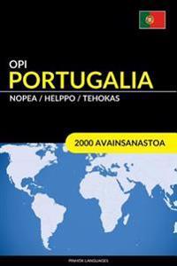 Opi Portugalia - Nopea / Helppo / Tehokas: 2000 Avainsanastoa