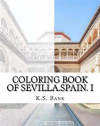 Coloring Book of Sevilla.Spain. I