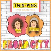 Broad City Twin Pins