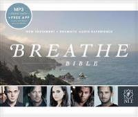 Breathe Bible Audio New Testament NLT, MP3