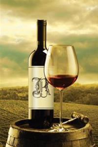 "Monogram ""R"" Wine Journal"