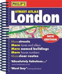 Philips street atlas london - mini paperback edition