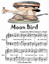 Moon Bird - Easiest Piano Sheet Music Junior Edition