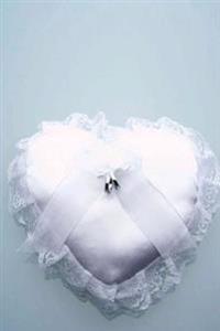 Wedding Journal Ring Bearer Heart Pillow: (Notebook, Diary, Blank Book)