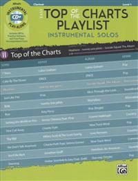 Easy Top of the Charts Playlist Instrumental Solos: Clarinet, Book & CD