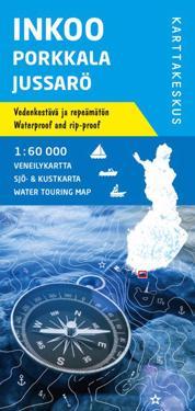 Inkoo-Porkkala-Jussarö veneilykartta 1:60 000