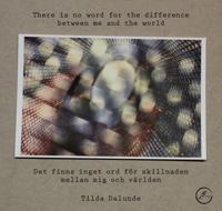 Det finns inget ord för skillnaden mellan mig och världen / There is no word for the difference between me and the world - Tilda Dalunde pdf epub