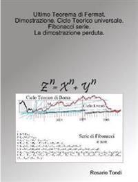 Ultimo Teorema Di Fermat, Dimostrazione. Ciclo Teorico Universale. Fibonacci Serie.