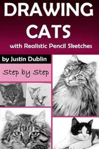 Drawing: Cats with Realistic Pencil Sketches (5 Cat Drawings in a Step by Step Process)