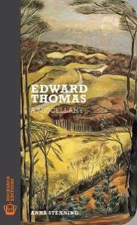Edward thomas - a miscellany
