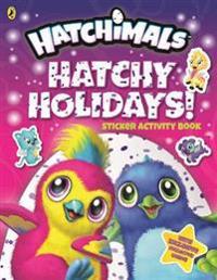 Hatchimals: Hatchy Holidays! Sticker Activity Book