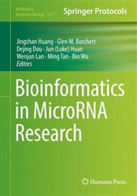 Bioinformatics in Microrna Research