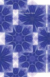 journal tribal pattern blue 6x9 dot journal journal with dot grid paper dotted pages with light grey dots