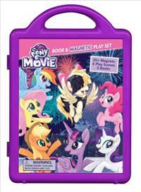 My Little Pony the Movie: Book & Magnetic Playset [With Storybook, Activity Book and 6 Play Scenes and Magnets]