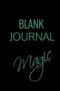 Blank Journal Magic: 6 X 9, 108 Lined Pages (Diary, Notebook, Journal)