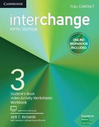 Interchange Level 3 Full Contact + Online Self-study and Online Workbook