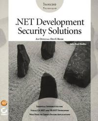 .Net Development Security Solutuions