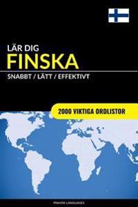 Lär dig Finska - Snabbt / Lätt / Effektivt: 2000 viktiga ordlistor - Pinhok Languages pdf epub