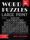 Word Puzzles Large Print