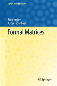 Formal Matrices