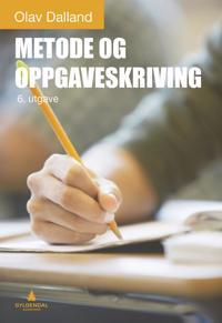 Metode og oppgaveskriving