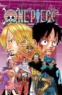 One piece. Luffy vs. Sanji