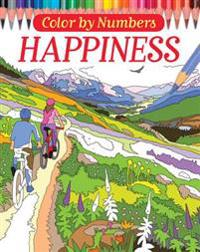 Color by Numbers: Happiness