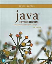 Java Software Solutions Plus Mylab Programming with Pearson Etext -- Access Card Package [With Access Code]