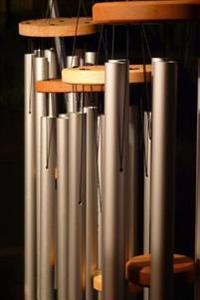 Wind Chimes on the Serenity Journal: 150 Page Lined Notebook/Diary