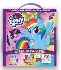 My Little Pony - Kirja ja kaksipuolinen palapeli