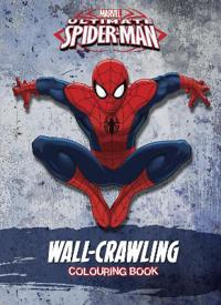 Marvel Spider-Man Wall-Crawling Colouring Book