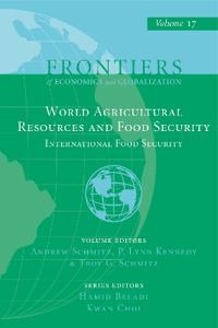 World Agricultural Resources and Food Security: International Food Security