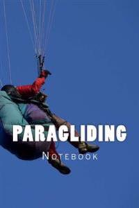 Paragliding: 150 Page Lined Notebook