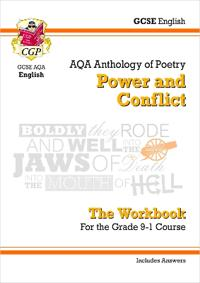 New gcse english literature aqa poetry workbook: power & conflict anthology