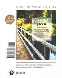 Java: An Introduction to Problem Solving and Programming [With Access Code]