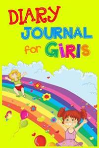 Diary Journal for Girls: 6 X 9, 108 Lined Pages (Diary, Notebook, Journal, Workbook)