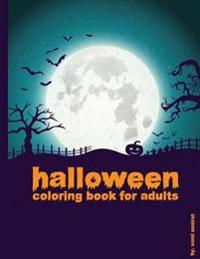 Halloween: Coloring Book for Adults