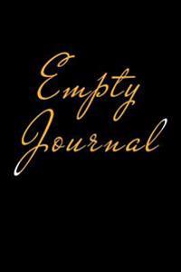 Empty Journal: 6 X 9, 108 Lined Pages (Diary, Notebook, Journal)