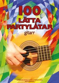 100 Lätta Partylåtar Gitarr