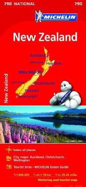 New Zealand - Michelin National Map 790