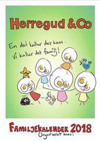 Herregud & Co. Familjekalender 2018