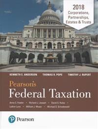Pearson's Federal Taxation 2018 Corporations, Partnerships, Estates & Trusts Plus Myaccountinglab with Pearson Etext -- Access Card Package