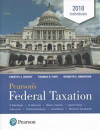 Pearson's Federal Taxation 2018 Individuals Plus Myaccountinglab with Pearson Etext -- Access Card Package