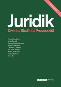 Juridik - civilrätt, straffrätt, processrätt 4:e upplagan