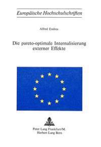 Die Pareto-Optimale Internalisierung Externer Effekte