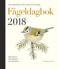 Fågeldagbok 2018 : årsalmanacka för egna noteringar