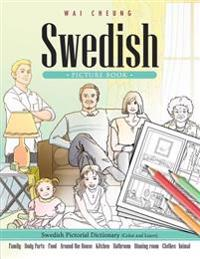 Swedish Picture Book: Swedish Pictorial Dictionary (Color and Learn)