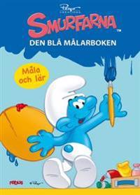60236: Smurfarna - den blå målarboken