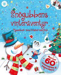 Snögubbens vinteräventyr - pysselbok med klistermärken